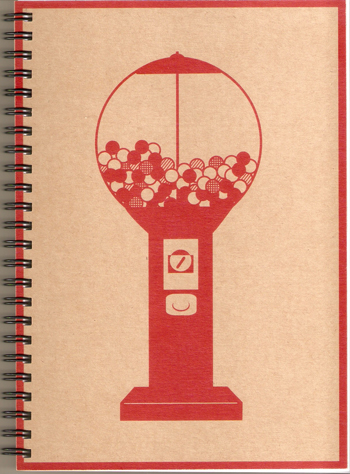 Gumball Machine Personal Notebook