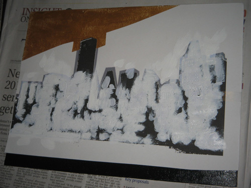 White-paint