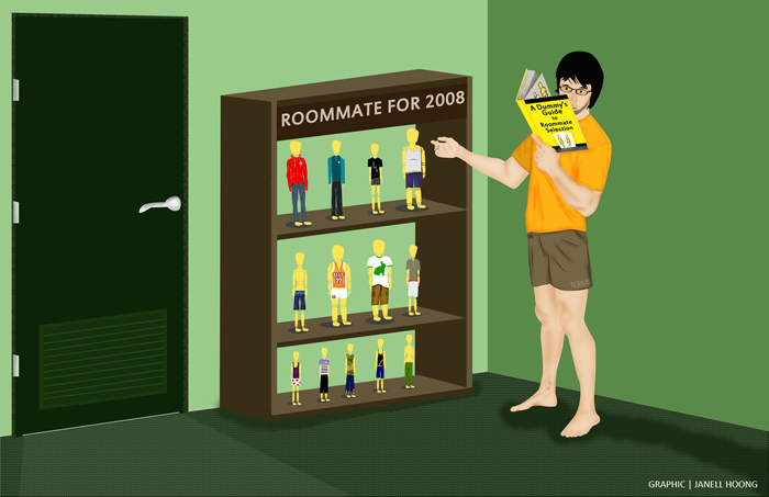 Dummy's Guide To Roommate Selection
