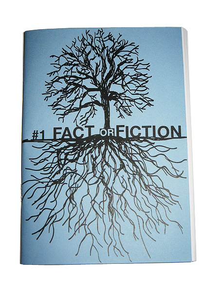 Fact or Fiction Zine Cover
