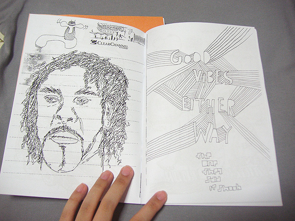 Doodle Zine Insides 2