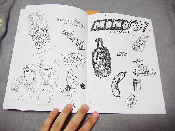 Doodle Zine Insides 1