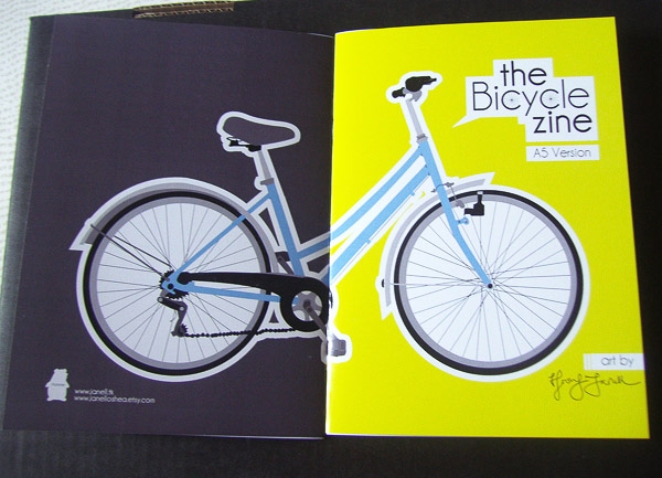 A5 Covers Bike Zine