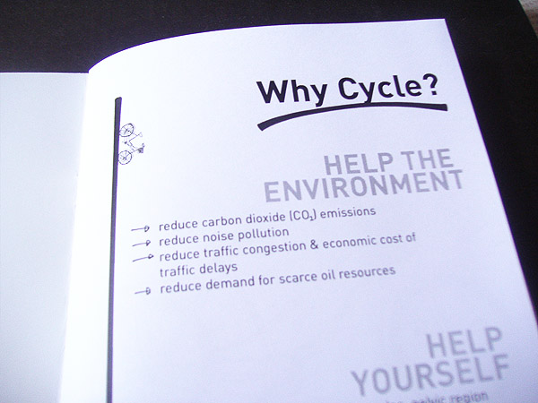 Bike Zine Why Cycle