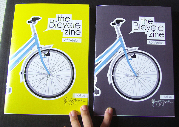 A5 Covers 2 Bike Zine
