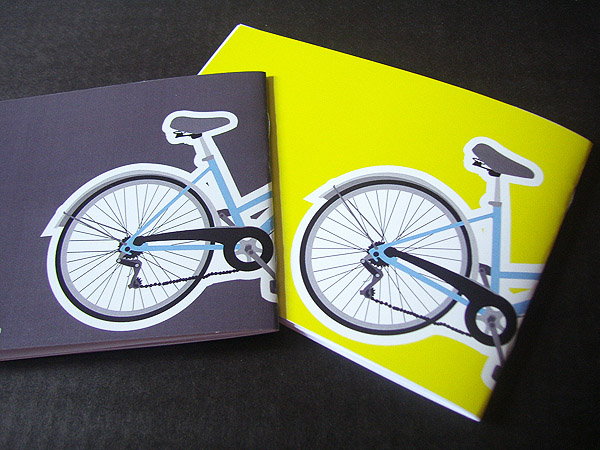 Bike Zine A6 Covers