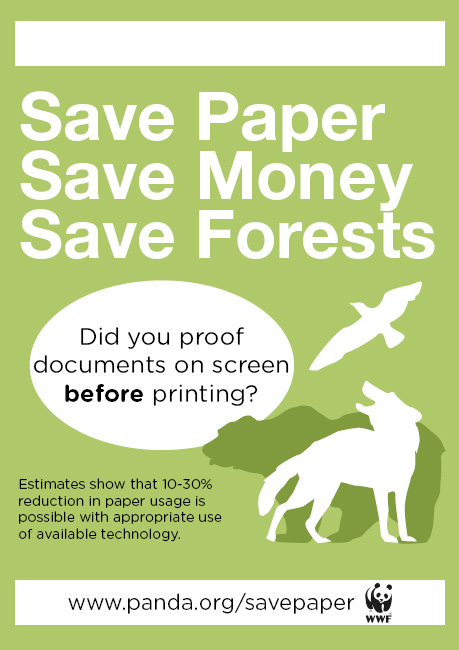 How you can save paper